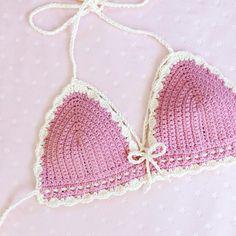 custom crochet pink kitten top