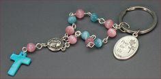 kleiner Rosenkranz Autorosenkranz Schutz Nr. 8 von TANBI-accessories:  Schmuckstücke für Kids und Erwachsene auf DaWanda.com