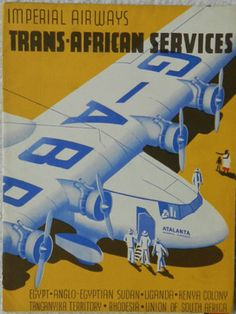 Trans-African Service - Imperial Airways