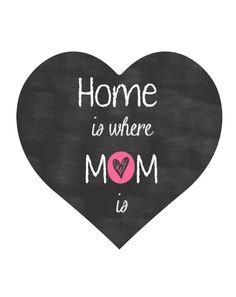 Voor moederdag!! Koop,download en in een mooi lijstje doen! Bekijk dit items in mijn Etsy shop https://www.etsy.com/nl/listing/230017284/direct-download-digitale-quote-home-is