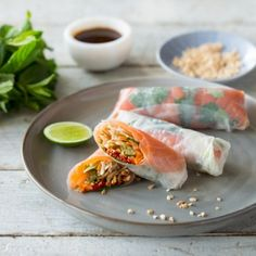 Try our delicious Fresh Vietnamese Cold smoked Huon Salmon Rolls recipe prepared with Huon Aquaculture products.