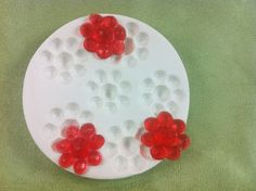 Facet Flowers Silicone mold designed by Susan Carberry. For cake decorating with Fondant, gumpaste, Isomalt, Chocolate and more.