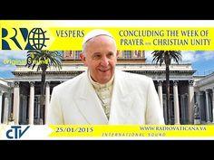 EN DIRECTO: Francisco clausura la semana de oración por la unidad de los cristianos