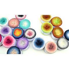 Necmiye Colorful Unikat Stel je eigen bol samen Wol (900), merino, 29,50