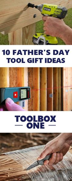 Father's Day Tool Gift Ideas for Dad