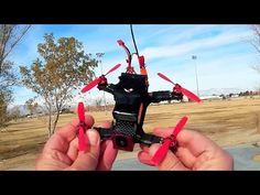 Eachine 130 Racer Small Brushless FPV Racer Flight Test Review