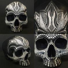 BoneCalligraphy-black-skull-decor.jpg 1,080×1,080 pixels