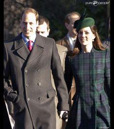 William & Catherine et Harry - Noël à Sandringham , 2ieme Service religieux _ Suite