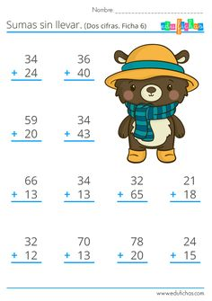 Math Practice Worksheets, Kindergarten Math Worksheets, School Worksheets, Teaching Math, Preschool Homework, Math Subtraction, English Worksheets For Kids, Math Practices, Basic Math