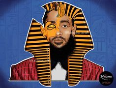 👑I did not know about Nipsey before his death for sure. And I Never listened to any of his song but I learn about what he did for the Black Community. Never too late to Learn Black Characters, Fictional Characters, Marathon Clothes, African Royalty, Art Corner, American Rappers, Black Pride, Black Art, Cartoon Art
