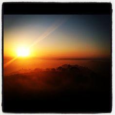 Mt Soledad Sunrise over San Diego CA