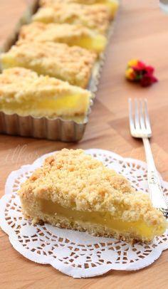 Lemon Recipes, Sweet Recipes, Cake Recipes, Italian Desserts, Italian Recipes, Crumble Pie, Torte Cake, Cheesecake, Romanian Food