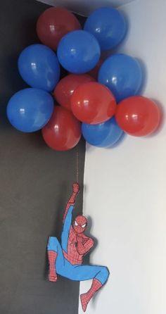 Tried this Pin? Spiderman Birthday Cake, Avengers Birthday, Superhero Birthday Party, 4th Birthday Parties, Boy Birthday, Superhero Party Decorations, Birthday Party Decorations, Birthday Themes For Boys, Birthday Ideas