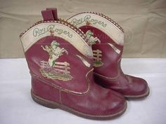 Could not resists these. Pretty Horses, Horse Love, Vintage Stuff, Vintage Shoes, Westerns, Kids Cowboy Boots, Dale Evans, Cowboys And Indians, Roy Rogers