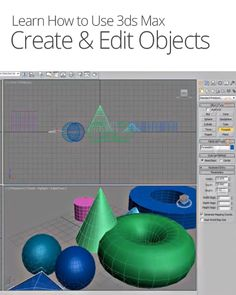 How to Create & Edit Objects in 3ds Max