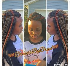 They gripped every piece of her edges they could find. You know she went to an African braiding shop