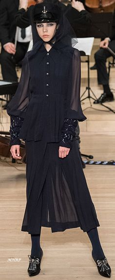 Chanel metiers d'art - Pre-Fall 2018 image from vogue.com