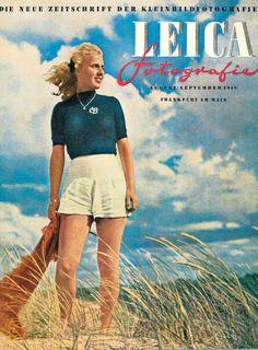 Leica fotografie, numéro de 1949. On y parle de quoi d'après vous ? ;-)