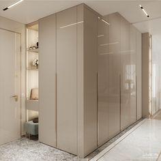 Apartemen 'Ggorgeous' – Live IN Wardrobe Interior Design, Wardrobe Door Designs, Wardrobe Design Bedroom, Bedroom Furniture Design, Closet Designs, Home Interior Design, Modern Wardrobe, Small Wardrobe, Sliding Wardrobe