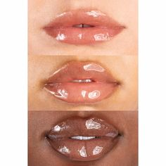 Swipe on our hi-shine, smoothing (never sticky) gloss enriched with jojoba oil to moisturize, nourish, and provide a cushiony feel for juicy, fuller-looking lips. Natural Lip Colors, Natural Lips, Plumping Lip Gloss, Lip Brush, Iron Oxide, Jojoba Oil, Seed Oil, Moisturizer