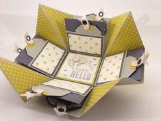 Stampin Up - Stempelherz - Explosion Box - Distressed Dots - Oh Hello 06.jpg