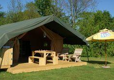 Kom genieten in een safaritent op Camping de Watermolen. Geen hele verhuizing voordat de vakantie begint. Vanaf €66,50 p/n (incl. 2 volwassenen en 3 kinderen).