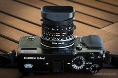 Using Leica M lenses on the Fuji X-Pro1 camera with the Kipon L/M-FX adapter
