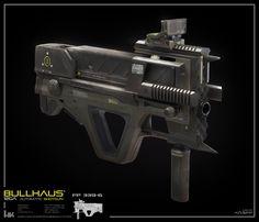 ArtStation - Bullpup Automatic Shotgun, David Knapp