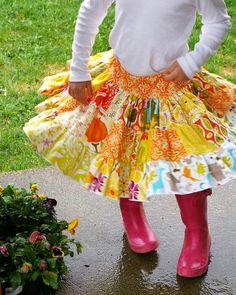 Very cute girl's skirt!