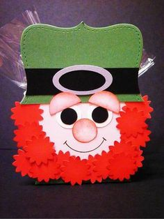 stampin up st patricks day | Stampin Up Punch Art Cupcake | Happy Saint Patrick's Day to all!!