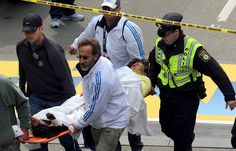 April 15, 2013: Two explosions at Boston Marathon finish line