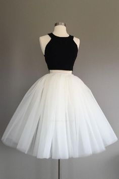 Ivory Tulle Skirt – light ivory tulle skirt, Adult Bachelorette Tutu- ivory adult tutu, white adult tulle skirt – Beading and Clothes Two Piece Homecoming Dress, Cute Homecoming Dresses, Prom Dresses Two Piece, Hoco Dresses, Dresses For Teens, Pretty Dresses, Elegant Dresses, Sexy Dresses, Summer Dresses