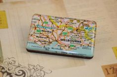 BNWT-new-handmade-womens-resin-wood-wooden-brooch-Melbourne-map-Melways-Victoria Melbourne Map, Melbourne House, Brooches, Maps, Victoria, Handmade, Jewelry, Hand Made, Jewlery