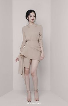 All products are designed and made by Lane JT Korean Girl Fashion, Ulzzang Fashion, Asian Fashion, Look Fashion, Fashion Design, Stylish Dresses, Simple Dresses, Pretty Dresses, Short Dresses