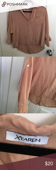 Cute top! Super cute top! Good condition just needs to be steamed! Tagged for views Free People Tops Blouses