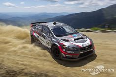 Subaru rally driver Travis Pastrana set a new record on the Mt. Washington Hill Climb, covering miles in just over five minutes. Nitro Circus, Subaru Rally, Subaru Wrx, Rally Drivers, Rally Car, Triumph Motorcycles, Monster Energy, Motocross, Ducati