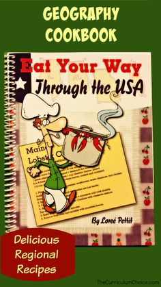 Eat Your Way Through the USA - Review by Megan at The Curriculum Choice