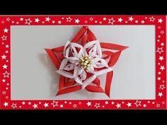 Stella di Natale senza cucire feltro, pannolenci, gomma crepla ,Tutorial Make a Snowflake - YouTube