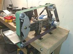 My Grinder To Belt Sander Conversion Shop Stuff