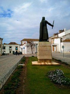 Sculpture in Faro, Portugal