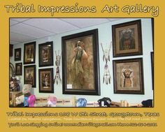 Art Inside Tribal Impressions http://www.indianvillagemall.com/