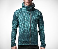 Introducing one smart and stylish coat. The Heimplanet Cairo Camo Hybrid Jacket, a reversible three-layer garment, is highly waterproof, breathable and Graphic Patterns, Print Patterns, Fashion Wear, Mens Fashion, Stylish Coat, Cairo, Cool, Illusion, Bucket