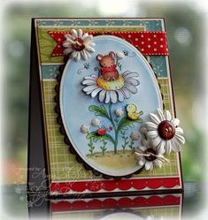 Amy Sheffer card  -- cute image, love the colors & layout - it's all PERFECT!