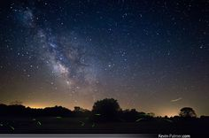 Astrophotographer Kevin Palmer sent in a intriguing photo of fireflies beneath the night sky of Weinberg King State Park, IL, taken at the beginning of July 2013.