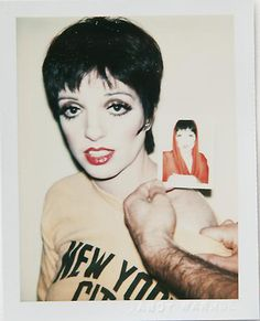 Liza Minelli by Andy Warhol: unseen polaroids from 1970 to 1987