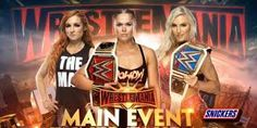 Charlotte Flair vs Becky Lynch vs Ronda Rousey Match ending expect like This? Stephanie Mcmahon, Charlotte Flair, Paige Video, Banks, Ronda Rousey Wwe, Road To Wrestlemania, Andre The Giant, Vince Mcmahon, Jeff Hardy