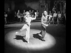 "Betty Grable & Hermes Pan - Footlight Serenade (1942) - ""Land On Your Feet"""