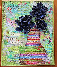 Elliam - Share the beauty Art journaling
