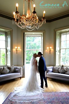 What a beautiful image of the bride and groom on their wedding day.