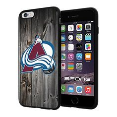 "Colorado Avalanche Black Wood #1615 iPhone 6 Plus (5.5"") I6+ Case Protection Scratch Proof Soft Case Cover Protector SURIYAN http://www.amazon.com/dp/B00X4EBF2Q/ref=cm_sw_r_pi_dp_mqjwvb17VKFDR"